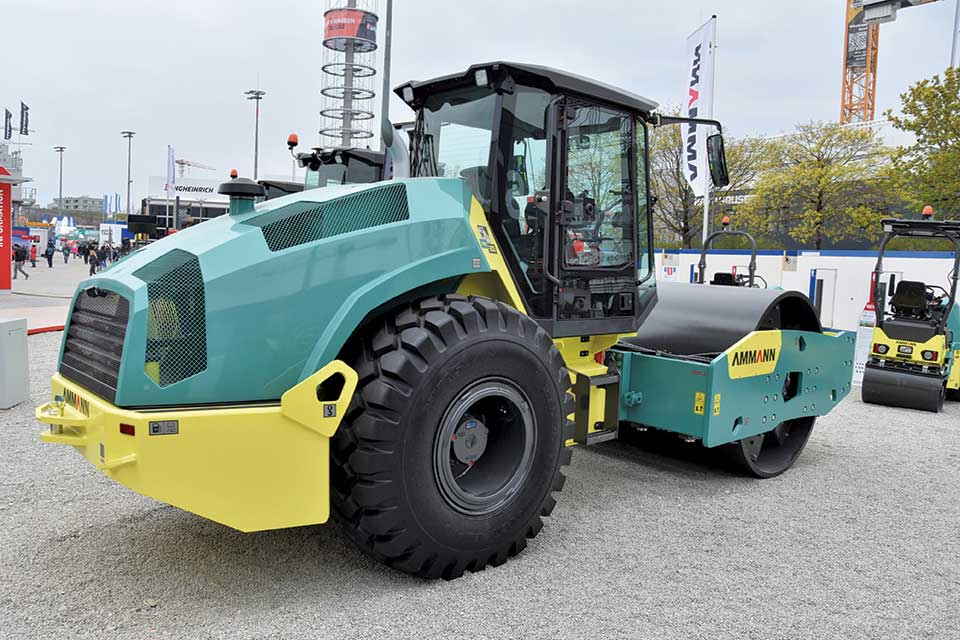Ammann ARS-serie is wendbaar en levert goede verdichtingsprestaties